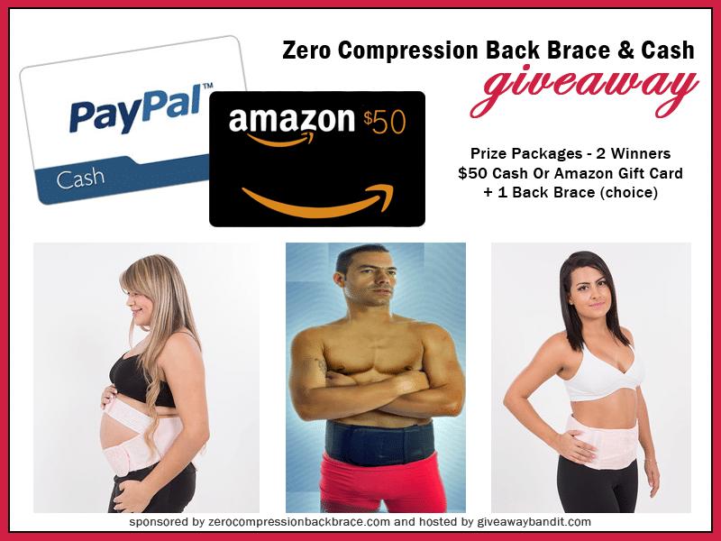 chiropractic backpain giveaway