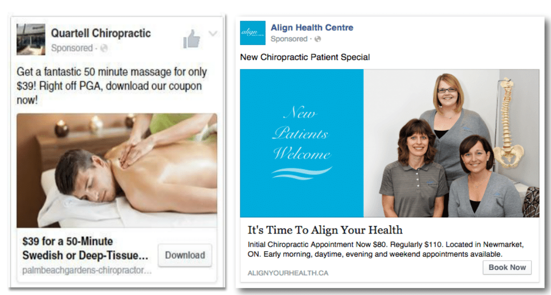 get new chiropractic patients with facebook ads